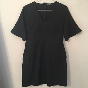 Boohoo nwot Black Dress